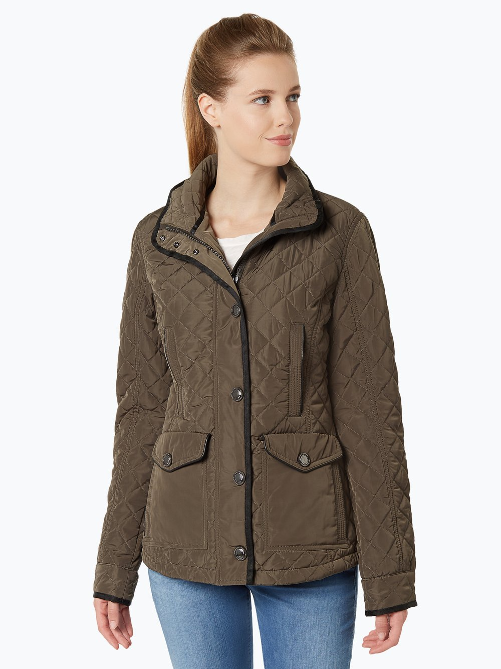 Wellensteyn Steppjacke women khaki Ashford Lady Größe