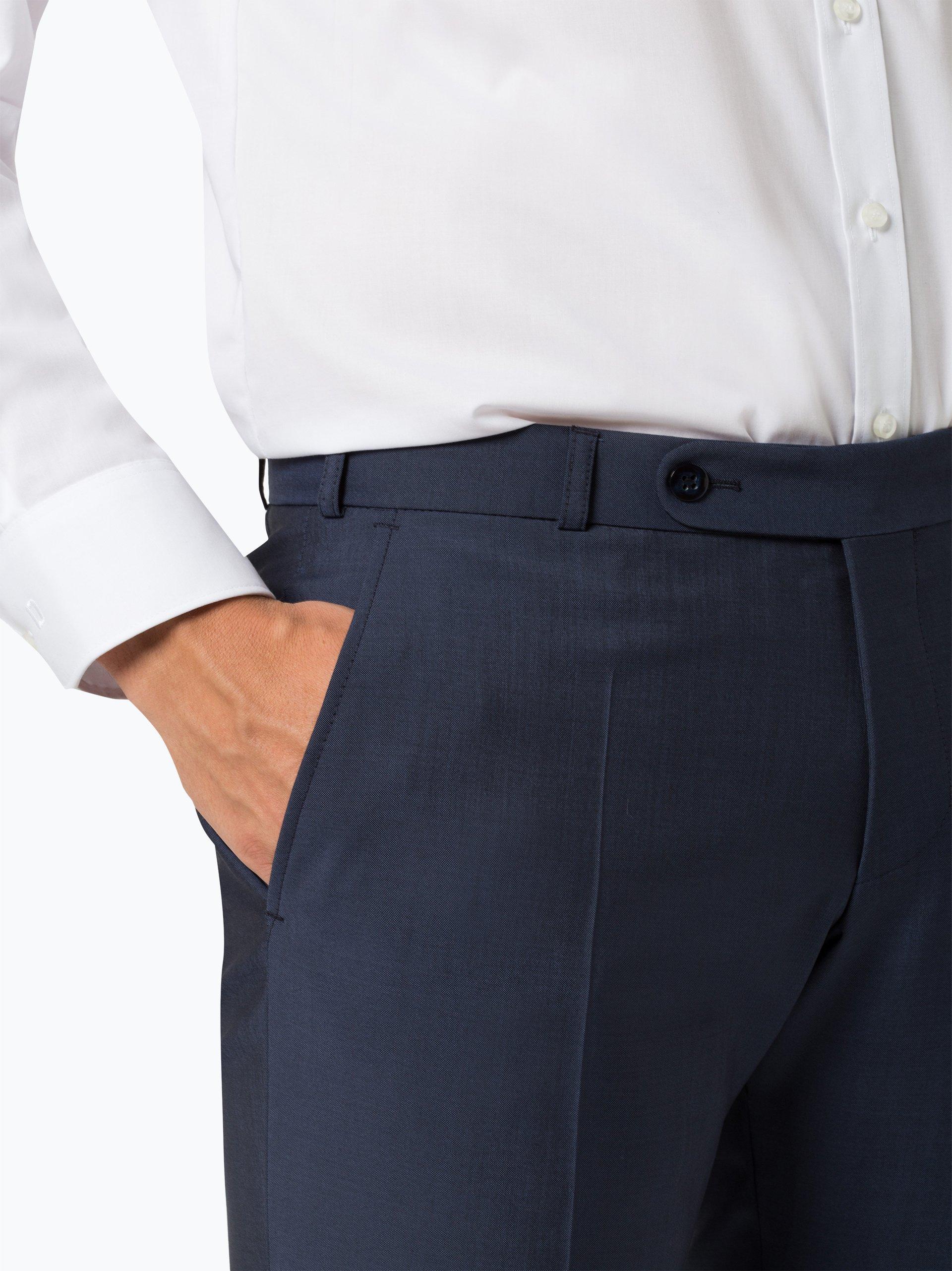 Wilvorst Męskie spodnie od garnituru modułowego z dodatkiem moheru