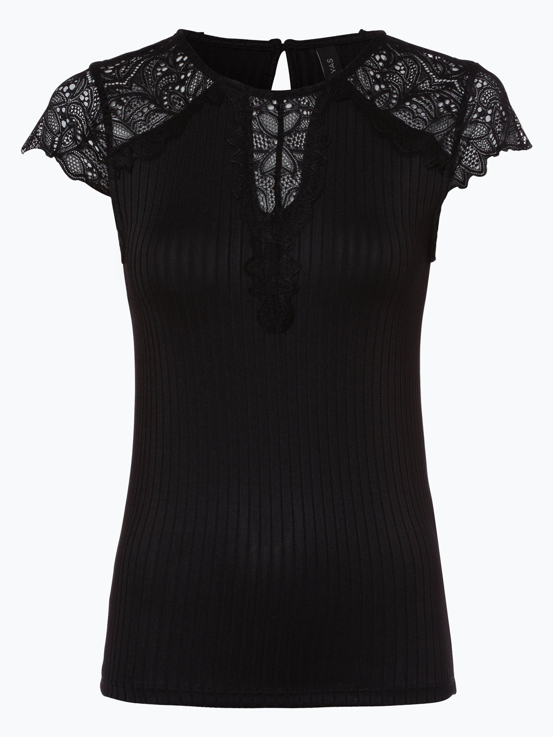 Y.A.S Damen T-Shirt - Blace